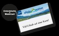 Allgäu WalserCard
