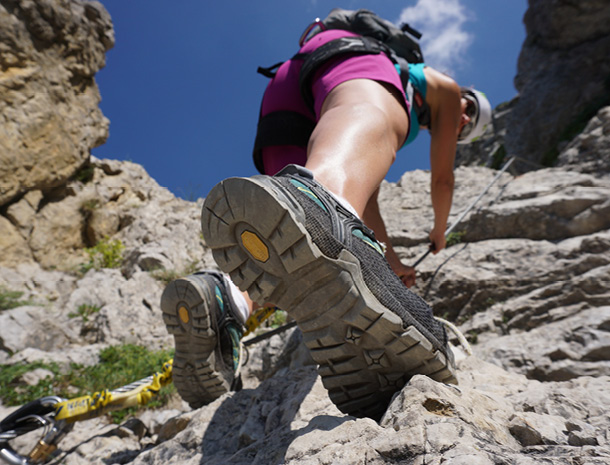 Klettersteig Salewa : Salewa klettersteig oberjoch klettersteige
