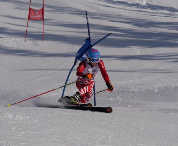 Telemark Weltcup 2018 im Skigebiet Oberjoch